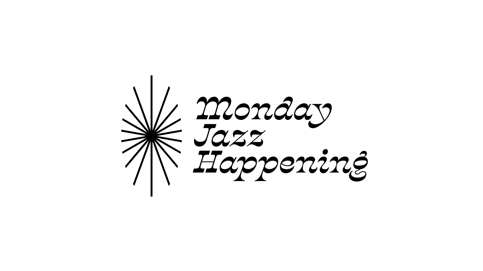 Monday Jazz Happeningin logo.
